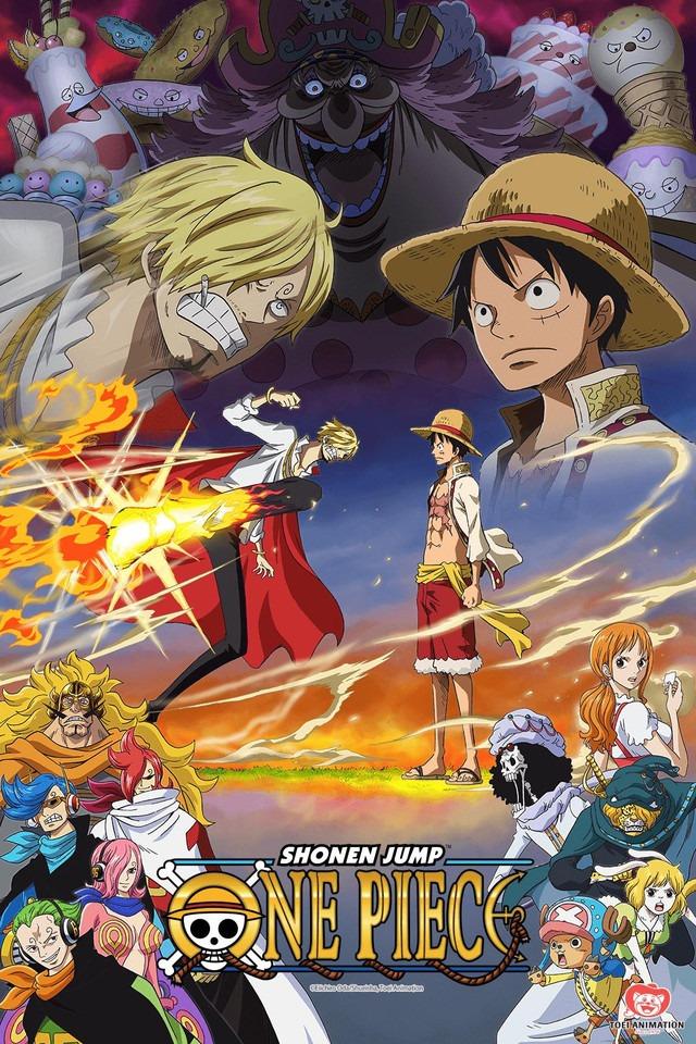 One Piece – Episodul 877 – Timpul despărțirii! Ultima dorință a lui Pudding!